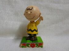 Jim Shore Peanuts Good Man Charlie Brown Snoppy and Woodstock Figurine 4044676