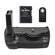 Battery Grip for Nikon D5600 + EN-EL14 Li-Ion Battery + Remote