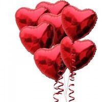 "18"" LOVE HEART SHAPE BALLOONS Wedding Party Romantic balloon Birthday decoration"