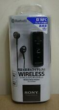 Sony DRC-BTN40K/B Black Wireless Bluetooth Canal Earphones Japanese Version BNIB