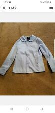 French Toast Girls Blouse 8 Light Blue W/ Collar