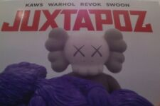 STREET ART/ KAWS COVER AND 12 PAGES INTERVIEW/ JUXTAPOZ MAGAZINE/ 25 YEARS