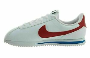 NEW Nike Cortez Basic SL 904764-103 Big Kids 6.5Y/Women's Shoe Size 8 White/Red
