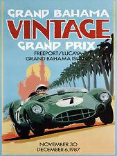 "Grand Bahama Vintage, Retro metal Sign/Plaque, Gift, Home, Garage 10"" x 8"" Large"