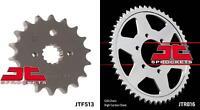 Front & Rear Sprocket Kit for SUZUKI GSX-R1100 L,M,WN-530 Chain Conversion 90-92