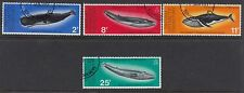 BRITISH ANTARCTIC TERRITORY:1977 Whale Conservation set   SG79-82  fine used