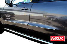 "BS3824 11-17 Dodge Durango Chrome Streamline Side Door Body Molding Trim 1/2"""