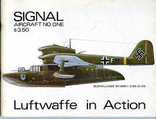 LUFTWAFFE IN ACTION, SQUADRON SIGNAL No. ONE, NEW 48 PAGE 1971 RARE BOOK / Offer