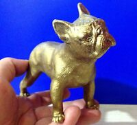 French Bulldog bronze figurine dog exclusive from Russia  for the collection