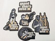 Grand Theft Auto III 3 GTA 10 Year 10th Anniversary Sticker Set Stickers