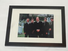 THE SOPRANOS SIGNED FRAMED AND MATTED 8X10 PHOTO TONY SIRICO VINNY PASTORE