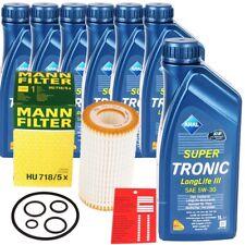Mann Ölfilter+ 7L Aral Super Tronic Longlife III 3 5W-30 Motoröl MB 229.51