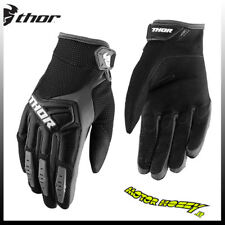 GUANTO DA CROSS ENDURO QUAD THOR MX GLOVE S8 SPECTRUM NERO TAGLIA XL