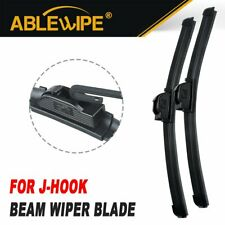 """ABLEWIPE Fit For Audi 4000 1984-1980 18""""+18"""" Beam Front Wiper Blades (Set of 2)"""