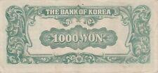 World Paper Money Korea 1950 Au/Vf
