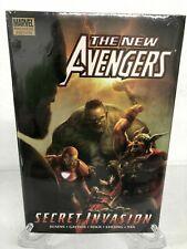 The New Avengers Volume 8 Secret Invasion Book 1 Marvel HC Hard Cover New Sealed