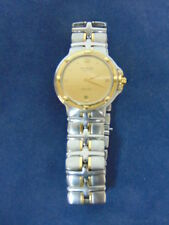 Auth Raymond Weil Parsifal Mens 18K Gold / Stainles Swiss Quartz Watch #E2094