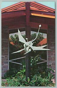Royal Oak Michigan~Pterodactyl~Holden Museum~Living Reptiles~Vintage Postcard