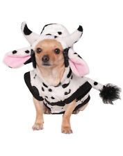 Cow Cattle Pet Dog Cat Hoodie Sweater Halloween Costume