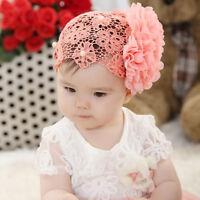 Baby Haarschmuck Lace Blume Spitze Haar Band Stirnband Kopfband Mädchen
