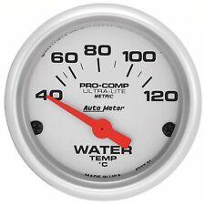 AutoMeter 4337-M Ultra-Lite Electric Water Temperature Gauge