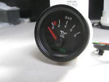 ESCORT MK1,MK2,RACETECH 52mm ELECTRICAL OIL PRESSURE GAUGE RALLY,GRP4,HISTORIC