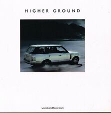 2003 Land Rover RANGE ROVER Brochure / Catalog with Color Chart: HSE, V8,