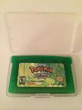 Pokemon versión verde hoja gba LeafGreen Nintendo Gameboy Advance Game Boy