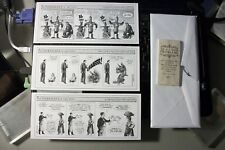 WONDERMARK COMICS SET 1 FROM DAVID MALKI 13 DIFFERENT COMIC STRIPS IN SET