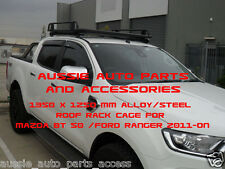 Tradesman Style Open Ends Alloy Roof Rack 1350mm for MAZDA BT50 BT-50 2011-2018