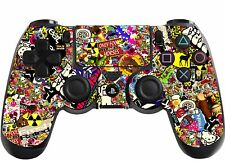 Sticker Bomb Playstation 4 (PS4) Controller Sticker / Skin / Wrap / PS3