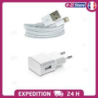 CABLE USB LIGHTNING CHARGEUR IPHONE 6 6S 7 5S SE 8 + X XR XS MAX 11 TOP QUALITÉ