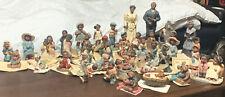 All God's Children Massive Collection Miss Martha 42 Figurines Children & Adults