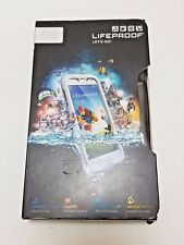 LifeProof Fre Samsung Galaxy S4 White Gray 1802-02 Cell Phone Weather Proof Case