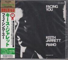 Keith Jarrett – Facing You (1971) ECM JAPAN 1ST EDITION 24K GOLD CD J25J 29023