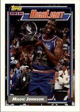 "Earvin ""Magic"" Johnson #2 - Topps 1992/93 NBA Basketball Card"