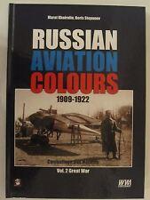 Russian Aviation Colours 1909-1922. Volume 2 - Color Profiles