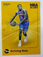 2019-20 Panini NBA Hoops Arriving Now RJ Barrett Rookie RC #4, New York Knicks