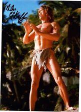 Miles O'Keefe Tarzan Beefcake Original In Person Autographed 8X10 Photo Bo Derek