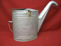 Vintage Gas Service Station Galvanized Steel Radiator Water Fill Can Goose Neck