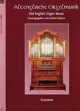 Kirchenorgel Orgel Noten : Altenglische Orgelmusik leiMittel - mittel MANUALITER