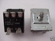 Bunn Coffee Maker Part 3-way switch 01053.0000 Part  Ships on the Same Day