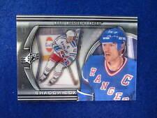 2011 12 SPX Mark Messier shadow box hockey insert card  Rangers # sb-3
