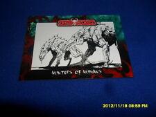 2012 BREYGENT DEAD WORLD ZOMBIE CARD #43 & 44 & 45 COMIC ART