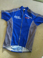 XL CYCLING JERSEY SIGNED BY 20. 1996 OLYMPIC SILVER MICHELLE FERRIS,