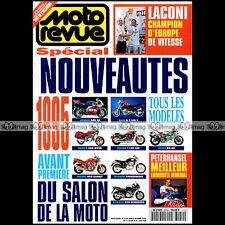 MOTO REVUE N°3154 YAMAHA HONDA SUZUKI ZXR KAWASAKI DUCATI BMW SALON COLOGNE 1994