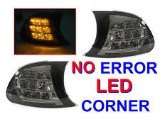 DEPO Amber LED Smoke Corner Signal Light For 2000-2001 BMW E46 2D Coupe / Cabrio