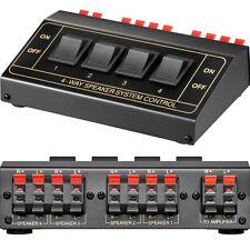 Speakercontrol Lautsprecher Umschaltbox bis zu 4 Paare Goobay