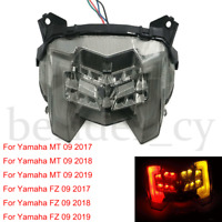 Motorcycle Brake Taillight & Turn Signal Lamp For Yamaha MT-09 FZ-09 2017-2019
