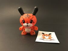 Dunny Kidrobot 2011 Series Ken the Mysterious Tiger Squink!